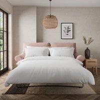 Salisbury Luxury Velvet 2 Seater Sofa Bed Luxury Velvet Peach Blush