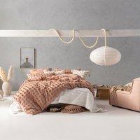 Linen House Haze Maple 100% Cotton Duvet Cover and Pillowcase Set Maple