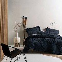 Adalyn Indigo Duvet Cover and Pillowcase Set Indigo (Blue)
