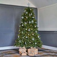 7.5ft LED Dunhill Fir Christmas Tree Green
