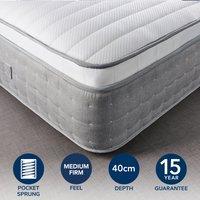 Hotel Gel Pillow Top 3500 Pocket Sprung Mattress White