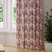 Camille Made to Measure Curtains Camille Red