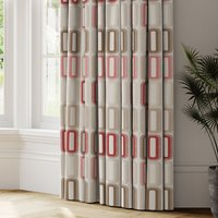 Dahl Made to Measure Curtains red