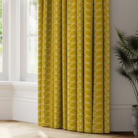 Orla Kiely Linear Stem Made to Measure Curtains yellow