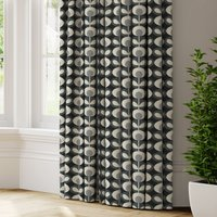 Orla Kiely Oval Flower Made to Measure Curtains grey