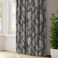 Affinis Made to Measure Curtains blue