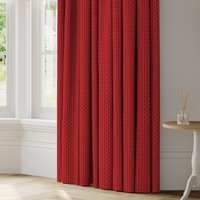 Orpheus Made to Measure Curtains red
