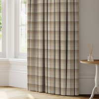 Highland Check Made to Measure Curtains yellow