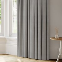 Flax Made to Measure Curtains blue