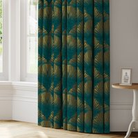 New York Made to Measure Curtains blue