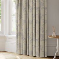 Cow Parsley Made to Measure Curtains blue