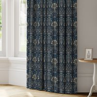 Lucetta Made to Measure Curtains blue