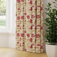 Gabrielle Made to Measure Curtains red