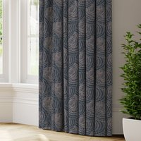 Sheldon Made to Measure Curtains blue