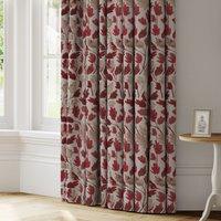 Jacintha Made to Measure Curtains Jacintha Rosso