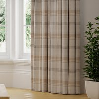 Melrose Check Made to Measure Curtains grey