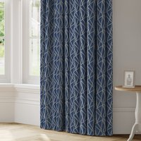 Geomo Made to Measure Curtains blue