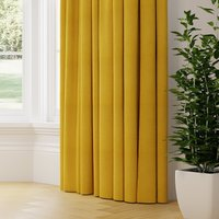 Lunar Made to Measure Curtains yellow