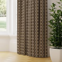 Trellis Made to Measure Curtains grey