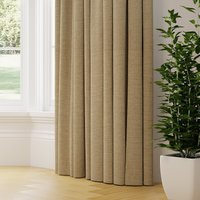 Lunar Made to Measure Curtains natural
