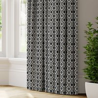 Recco Made to Measure Curtains black_and_white