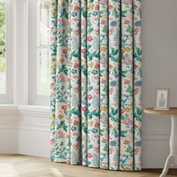 Twilight Made to Measure Curtains White, Green and Pink