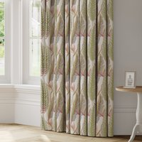 Brodsworth Made to Measure Curtains White, Brown and Red