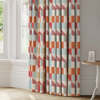 Adler Made to Measure Curtains White, Pink and Blue