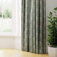 Blickling Made to Measure Curtains Green/Brown