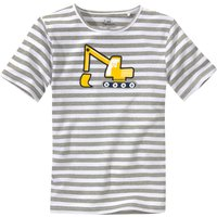 Miniboyoberteile - Jungen T-Shirt mit Bagger Motiv - Onlineshop Ernstings family