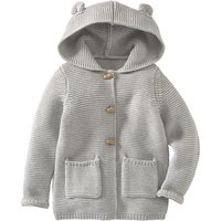 Babyjacken - Baby Strickjacke mit Kapuze - Onlineshop Ernstings family