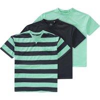 Boysoberteile - 3 Jungen T-Shirts in verschiedenen Dessins - Onlineshop Ernstings family