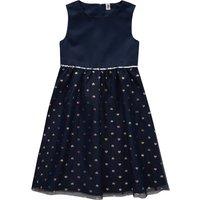 Girlsroeckekleider - Festliches Mädchen Kleid mit Herzchen Allover - Onlineshop Ernstings family