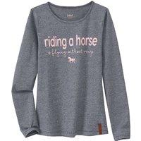 Girlsoberteile - Mädchen Langarmshirt mit Pferde Motiv - Onlineshop Ernstings family