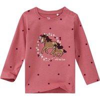 Babyoberteile - Baby Langarmshirt mit Pferde Applikation - Onlineshop Ernstings family