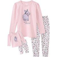 Minigirlwaeschenachtwaesche - Mädchen Schlafanzug und Puppenschlafanzug - Onlineshop Ernstings family