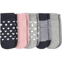 Babyaccessoires - 5 Paar Baby Frottee Socken mit ABS Sohle - Onlineshop Ernstings family