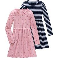 Girlsroeckekleider - 2 Mädchen Kleider in verschiedenen Dessins - Onlineshop Ernstings family