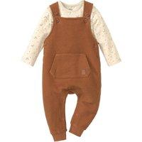 Babyhosen - Newborn Latzhose und Langarmbody im Set - Onlineshop Ernstings family