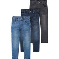 Miniboyhosen - 3 Jungen Skinny Jeans mit verstellbarem Bund - Onlineshop Ernstings family