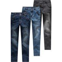 Boyshosen - 3 Jungen Skinny Jeans mit verstellbarem Bund - Onlineshop Ernstings family