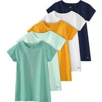 Minigirloberteile - 5 Mädchen T-Shirts im Set - Onlineshop Ernstings family