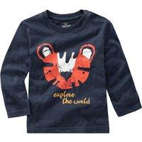 Babyoberteile - Baby Langarmshirt mit Tiger Print - Onlineshop Ernstings family