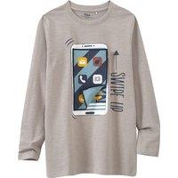 Boysoberteile - Jungen Langarmshirt mit 3D Applikation - Onlineshop Ernstings family