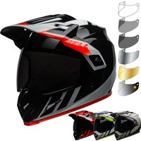 Bell MX-9 Adventure MIPS Dash Dual Sport Helmet & Visor Kit - Matt Sand Brown Grey, Matt Sand Brown Grey