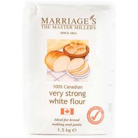 Canadian Very Strong White Flour 1.5kg - BBF 24/06/2020