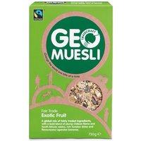 Fair Trade Exotic Fruit GeoMuesli - 750g
