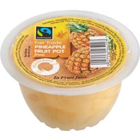 Fair Trade Pineapple Fruit Pot - 120g
