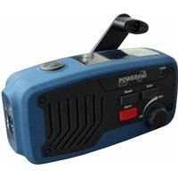 Panther Wind Up & Solar Radio Torch & Power Bank