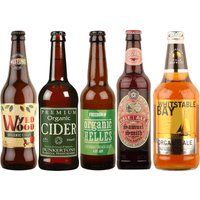 Organic Mixed Beer and Ciders - Case of 20